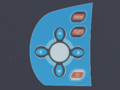 Front Folie Overlay Folie Abdeckung Kommunikationsschnittstelle