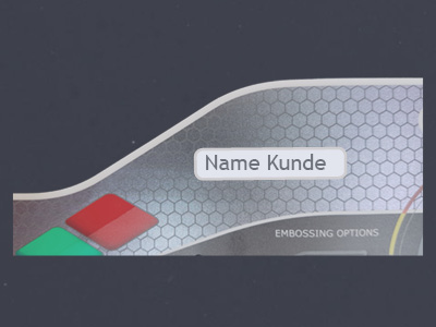 Beschriftungsfunktion Einschubtasche Front Folie Overlay Folie Abdeckung Kommunikationsschnittstelle