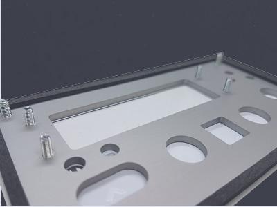 Trägerplatte Folientastatur – Aluminium, Kunststoff oder Edelstahl