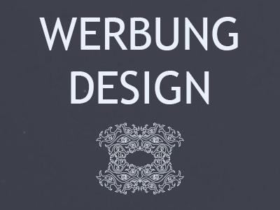 Werbung Design